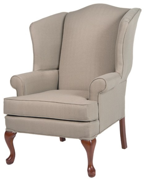 Erin Wingback Chair - Traditional - Armchairs And Accent in Armchairs And Accent Chairs