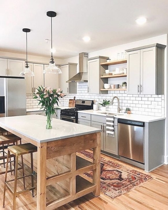 Explore Beautiful Pictures Of Small Kitchen Layout Ideas with regard to Image Of Small Kitchen