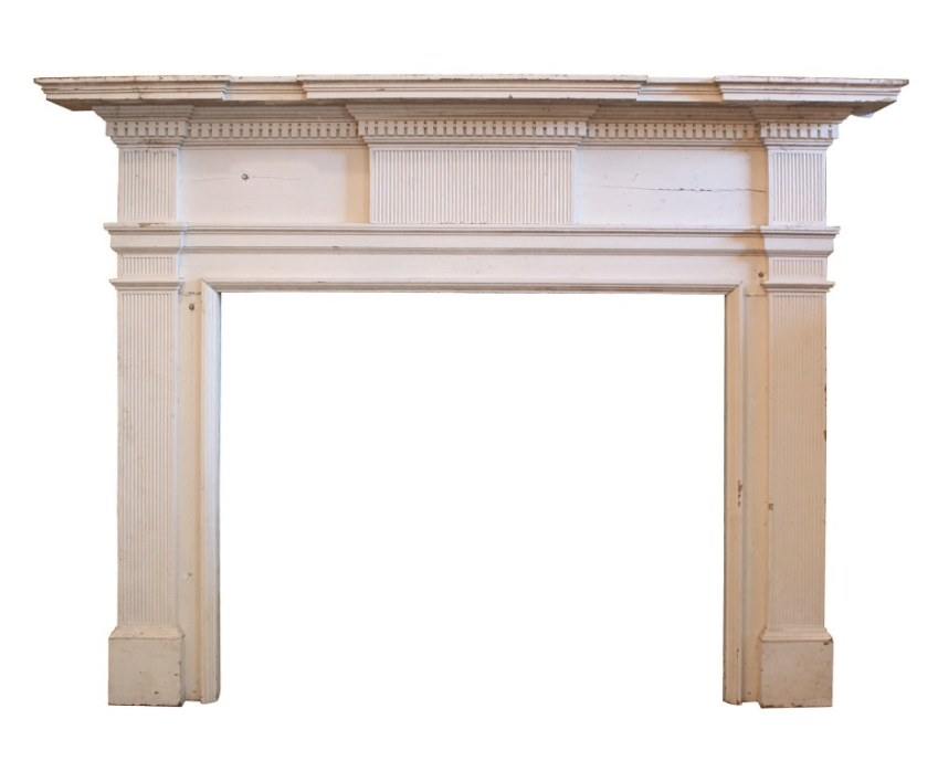 Fantastic Antique Federal Fireplace Mantel, Late 1700'S To with regard to Fireplace Mantels For Sale