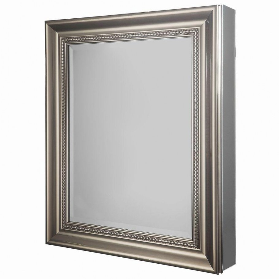 Glacier Bay 24 In. W X 30 In. H Framed Recessed Or Surface with Surface Mount Medicine Cabinet