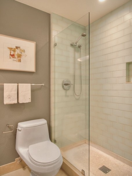 Glass Subway Tile Home Design Ideas, Pictures, Remodel And throughout Glass Subway Tile Bathroom