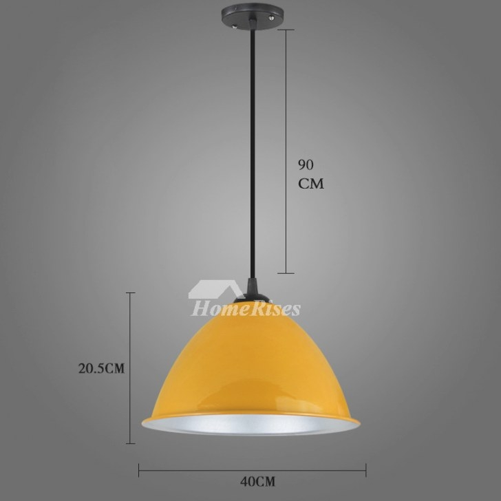 Hanging Pendant Lights White/Red Fixture Modern For within Red Pendant Lights For Kitchen