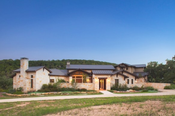Hill Country Custom Home - Rustic - Exterior - Austin - with regard to Texas Hill Country Homes