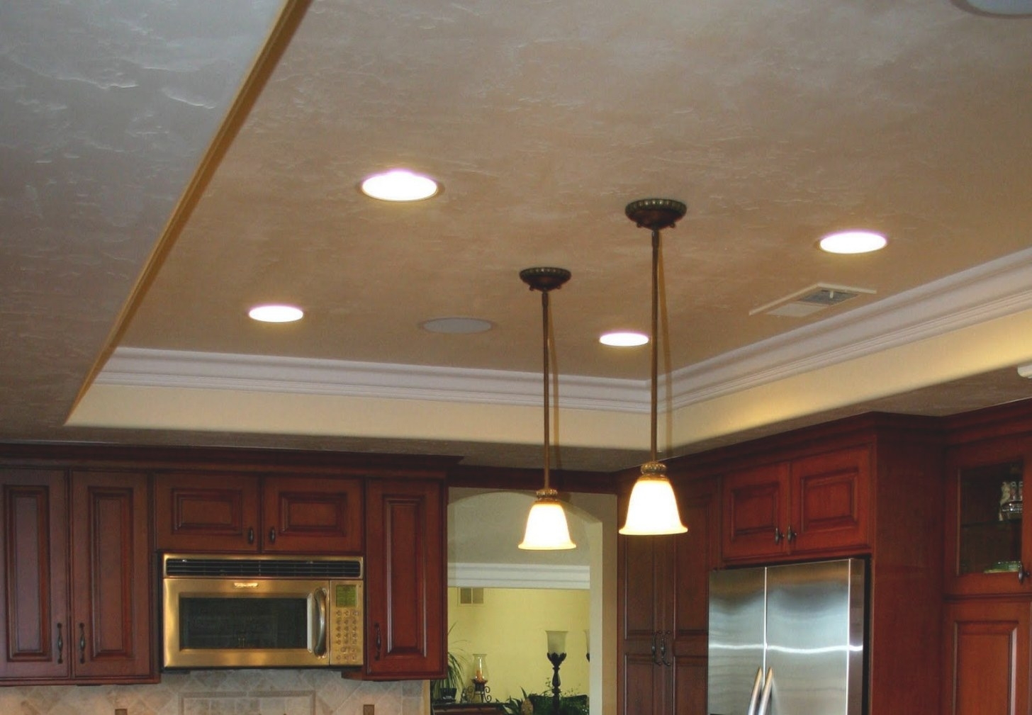 Home Decor: Bonnies Old World Kitchen Remodel | Kitchen intended for Drop Ceilings In Homes