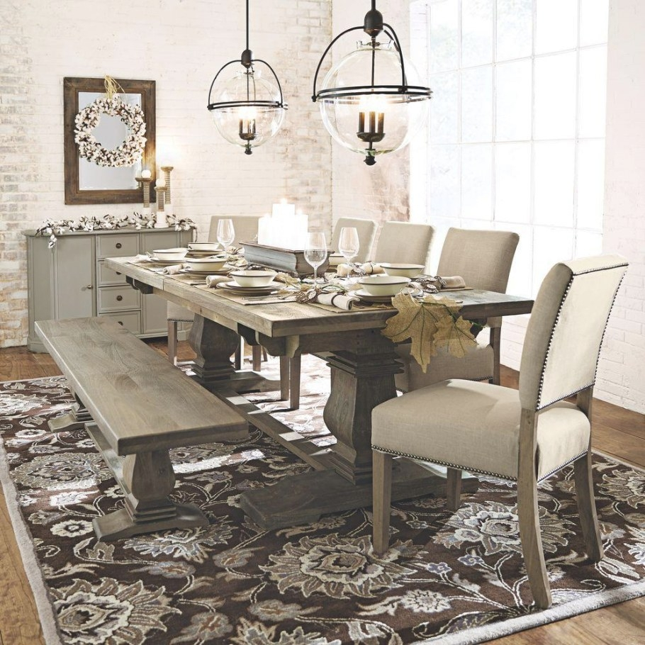 Home Decorators Collection Aldridge Antique Grey Wood within Restaurant Booths For Home