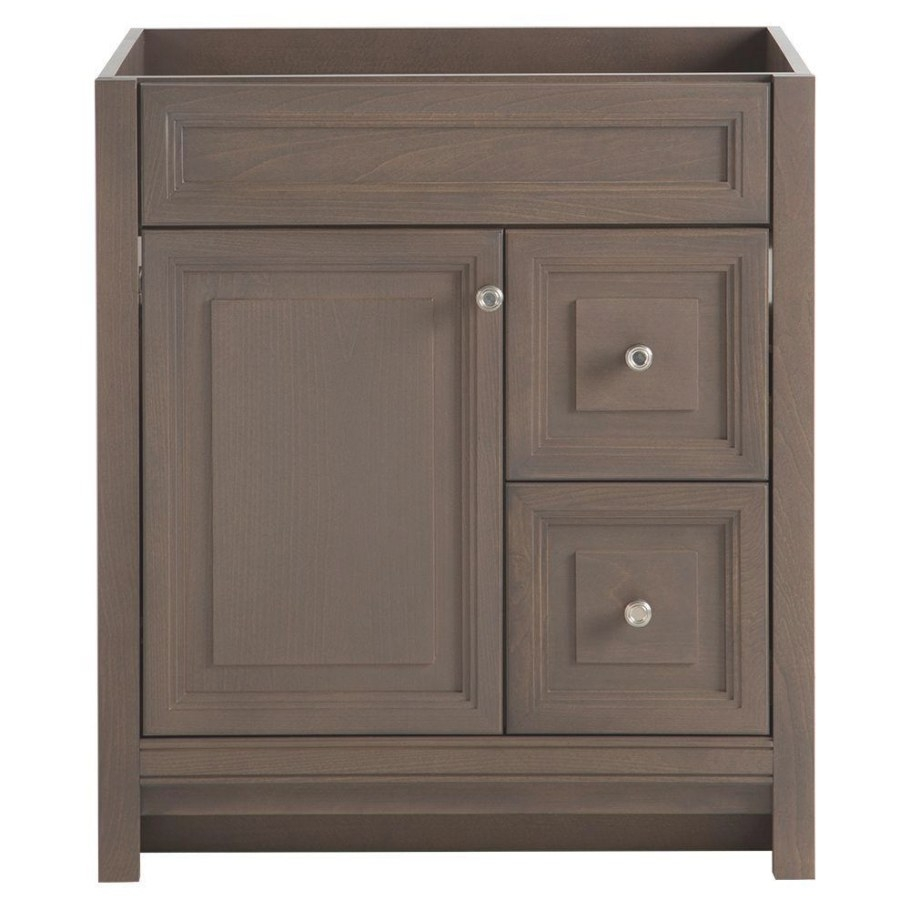 "Home Decorators Collection Brinkhill 30 In. W Bath Vanity regarding 30"" Bathroom Vanity"