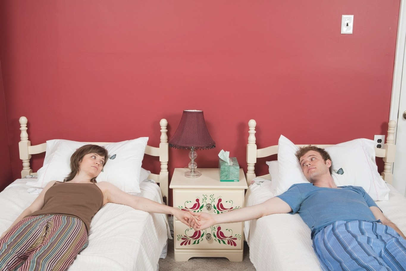 Honey, I Love You…But We Need Separate Beds   Opinion   Ozy in Husband And Wife In Bedroom