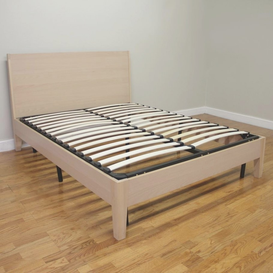 How To Build A Wood Twin Bed Frame – Loccie Better Homes for Twin Platform Bed Frame