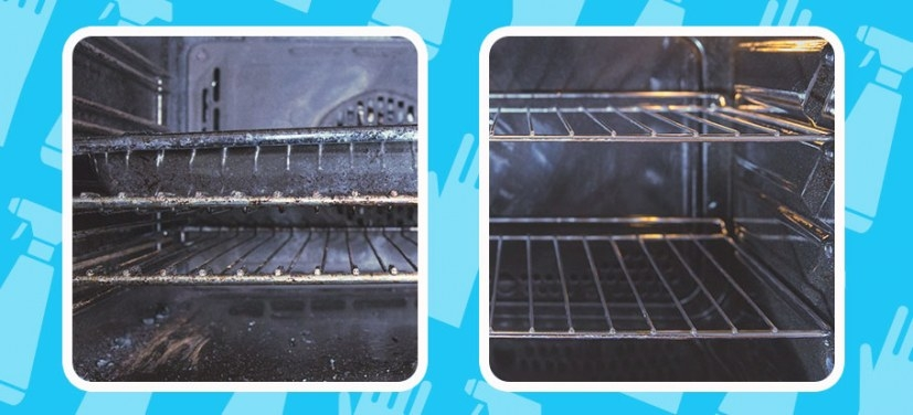 How To Clean Oven Racks Naturally - Fantastic Services Blog pertaining to How To Clean Oven Racks