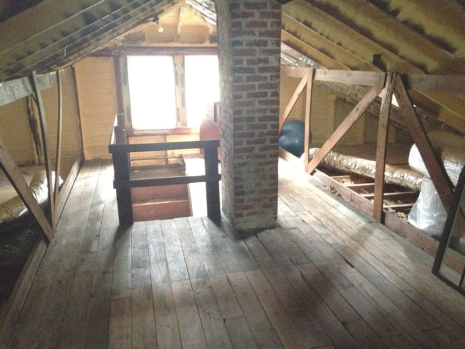 How To: Turn An Attic Into A Bedroom | The Craftsman Blog throughout Turning Living Room Into Bedroom