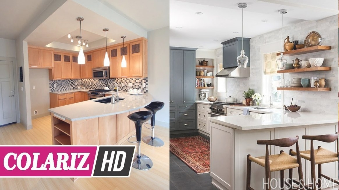 Ideas For Home 💗 30+ Small U Shaped Kitchen With Peninsula inside Small U Shaped Kitchen