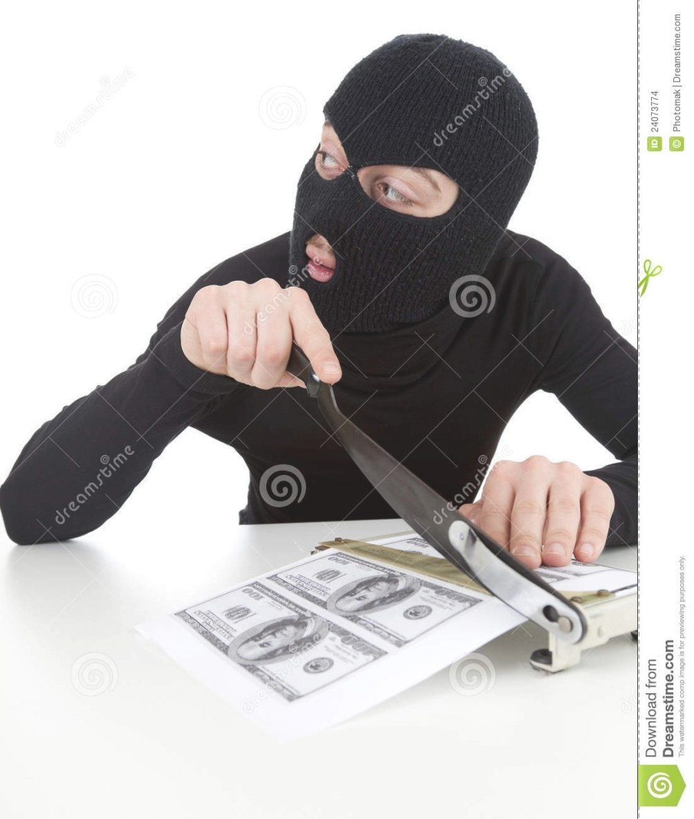 Illegal Manufactory Of Money Stock Photo - Image Of Felon intended for Is It Illegal To Remodel Without A Permit