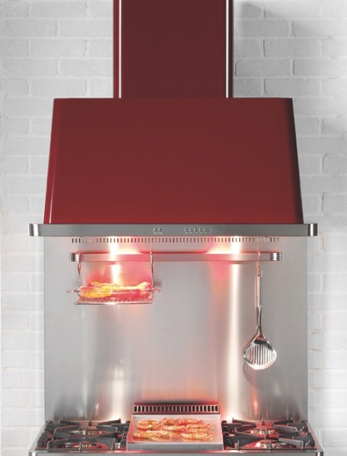 Ilve Uam150Bl 60 Inch Wall Mount Chimney Range Hood With with regard to 60 Inch Range Hood