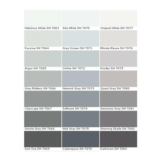 Image Result For Gray Screen Sherwin Williams | Master inside Sherwin Williams Gray Screen