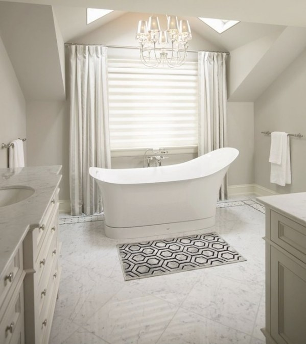 Image Result For Stand Alone Tub Carrara Marble Bathroom throughout Stand Alone Vanities For Bathrooms