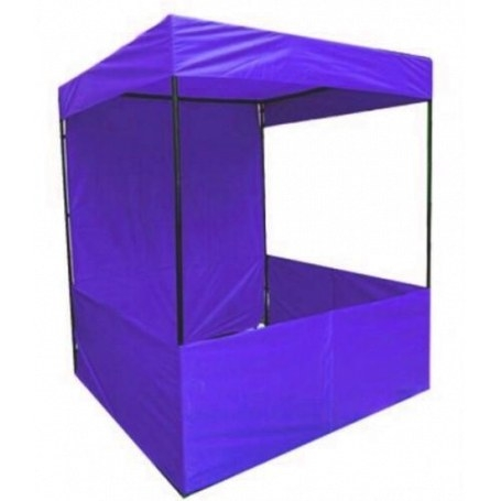 Iron Polyester Waterproof Plain Canopy Tent, Capacity: 2 regarding How To Iron Polyester