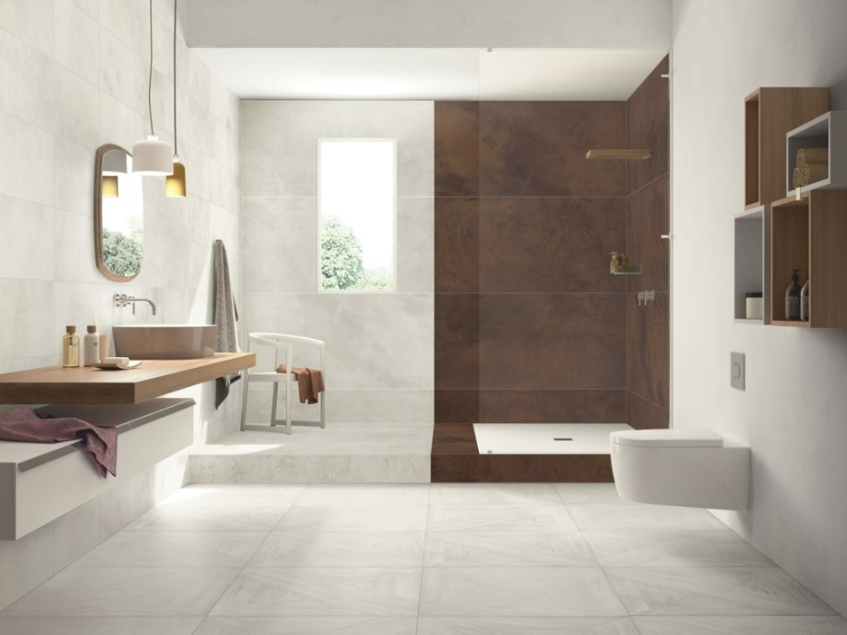 Italian Tiles That Look Like Assembled Parquet Panels for Wood Look Tile In Bathroom