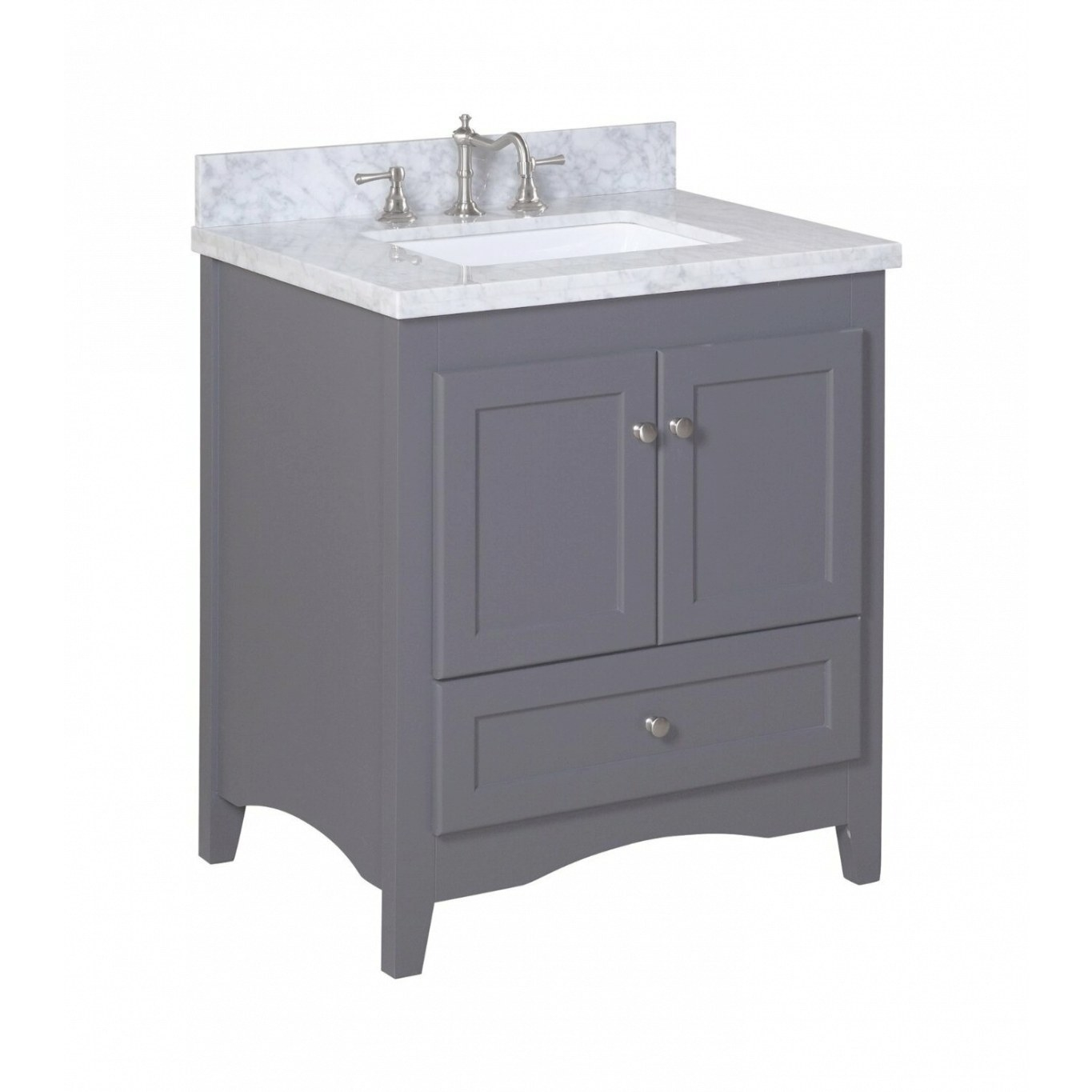 "Kbc Abbey 30"" Single Bathroom Vanity Set & Reviews 
