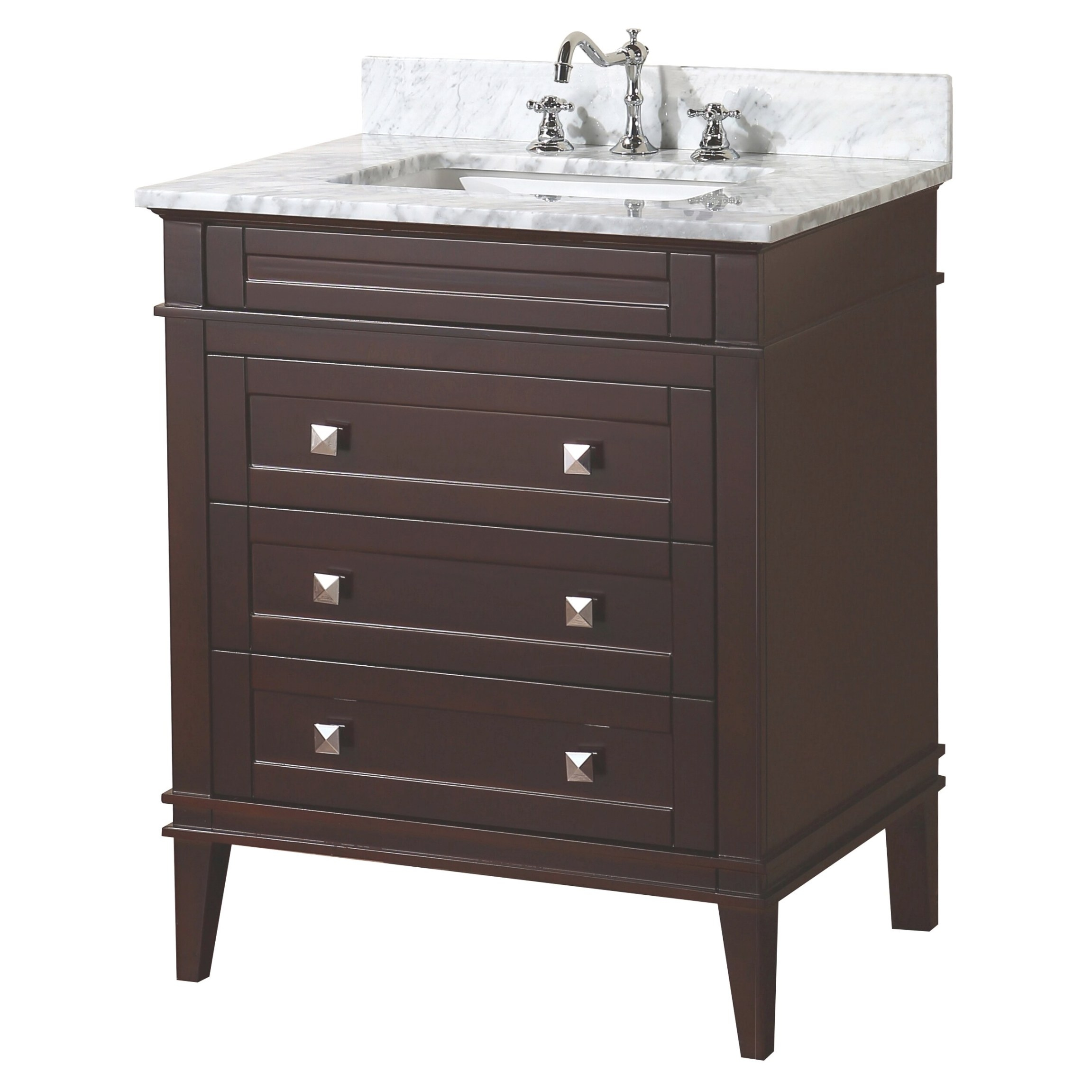 "Kbc Eleanor 30"" Single Bathroom Vanity Set & Reviews 