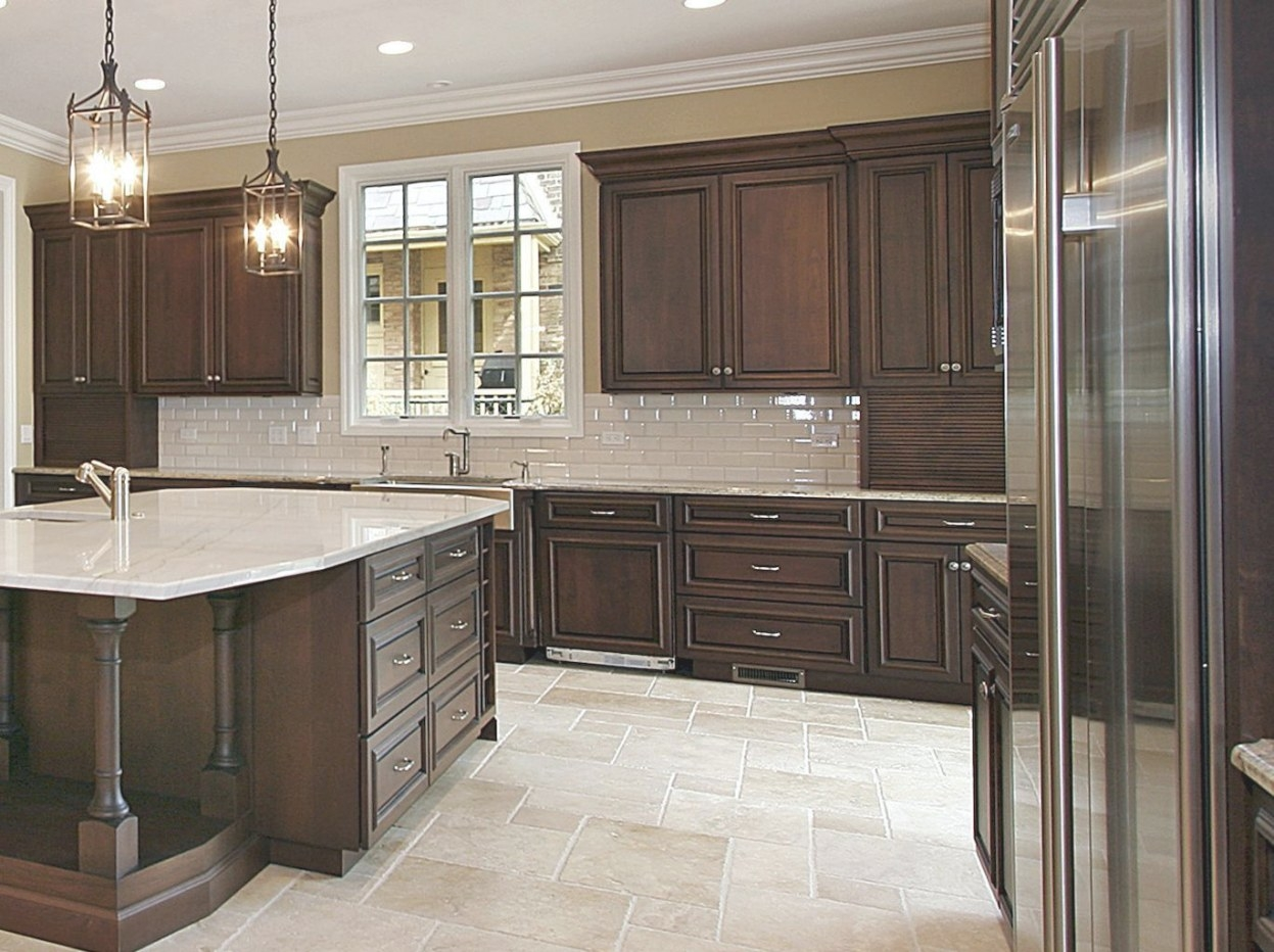 Kitchen Backsplash With Dark Cabinets (47) | Dark Brown with Black And Brown Kitchen