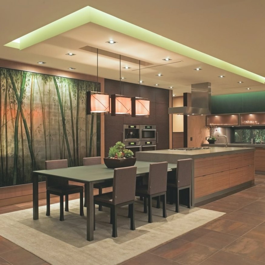 Kitchen - Modern & Luxurious With Wall Mural, Mixed Woods with State Of The Art Kitchens