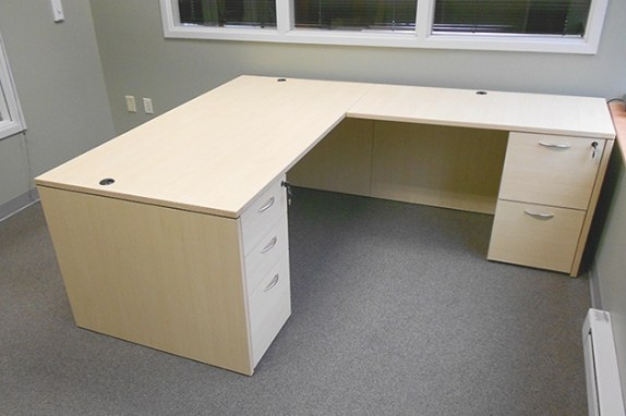 L Shaped Office Desk - New & Used Desk - The Office with regard to L Shaped Office Desk