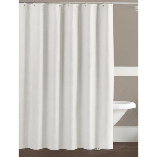 Lamont Home Diamante 72 X 84-Inch Long Shower Curtain pertaining to 84 Inch Shower Curtain