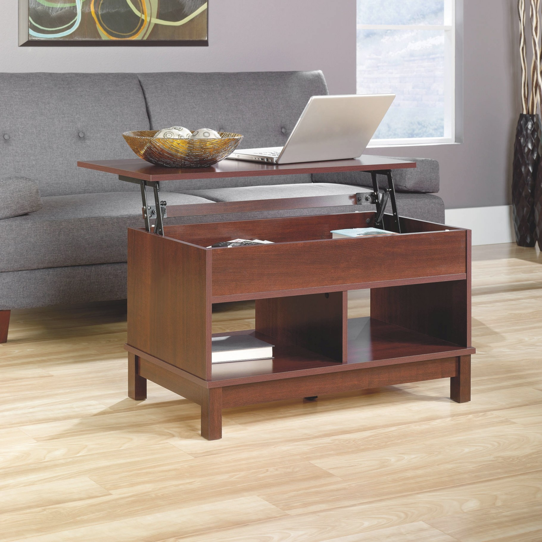 Lift Top Coffee Tables With Storage | Roy Home Design within Lift Top Coffee Tables
