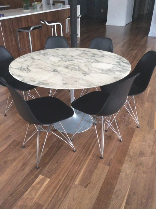 Loading (With Images)   Dining Table Marble, Round Marble inside Round Marble Dining Table