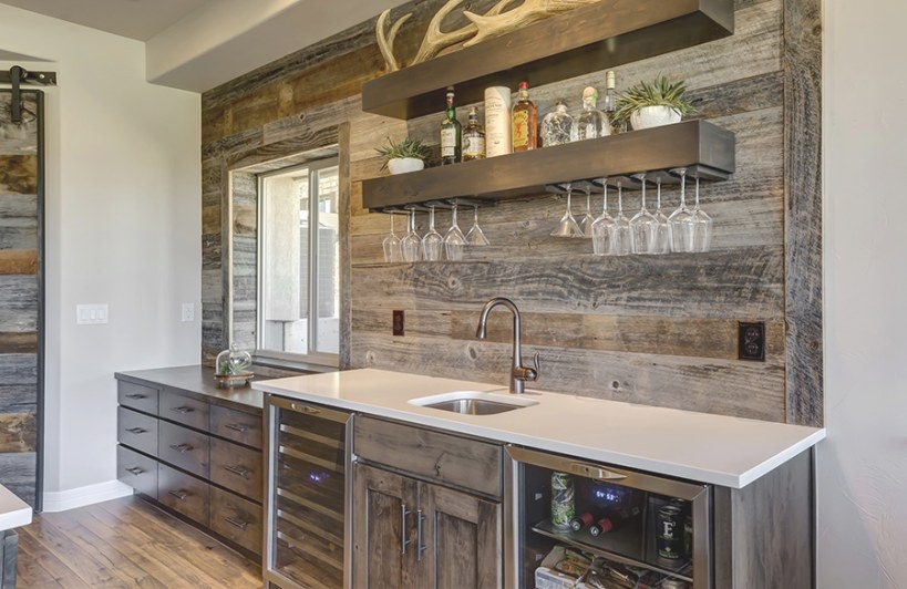 Manor Stone Basement - Finished Basement Company for Wet Bars For Homes