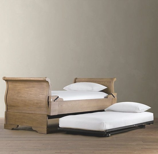 Marston Daybed With Pop-Up Trundle Dry Oak In 2020 | Pop for Daybed With Pop Up Trundle