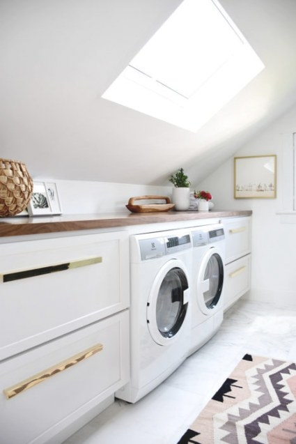 Master Bathroom Reveal! (One Room Challenge: Spring 2017 with regard to Washer Dryer Combo In Bathroom