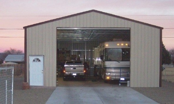 Metal Building Kit Examples : See What Our Customers Have regarding How Big Is A 2 Car Garage