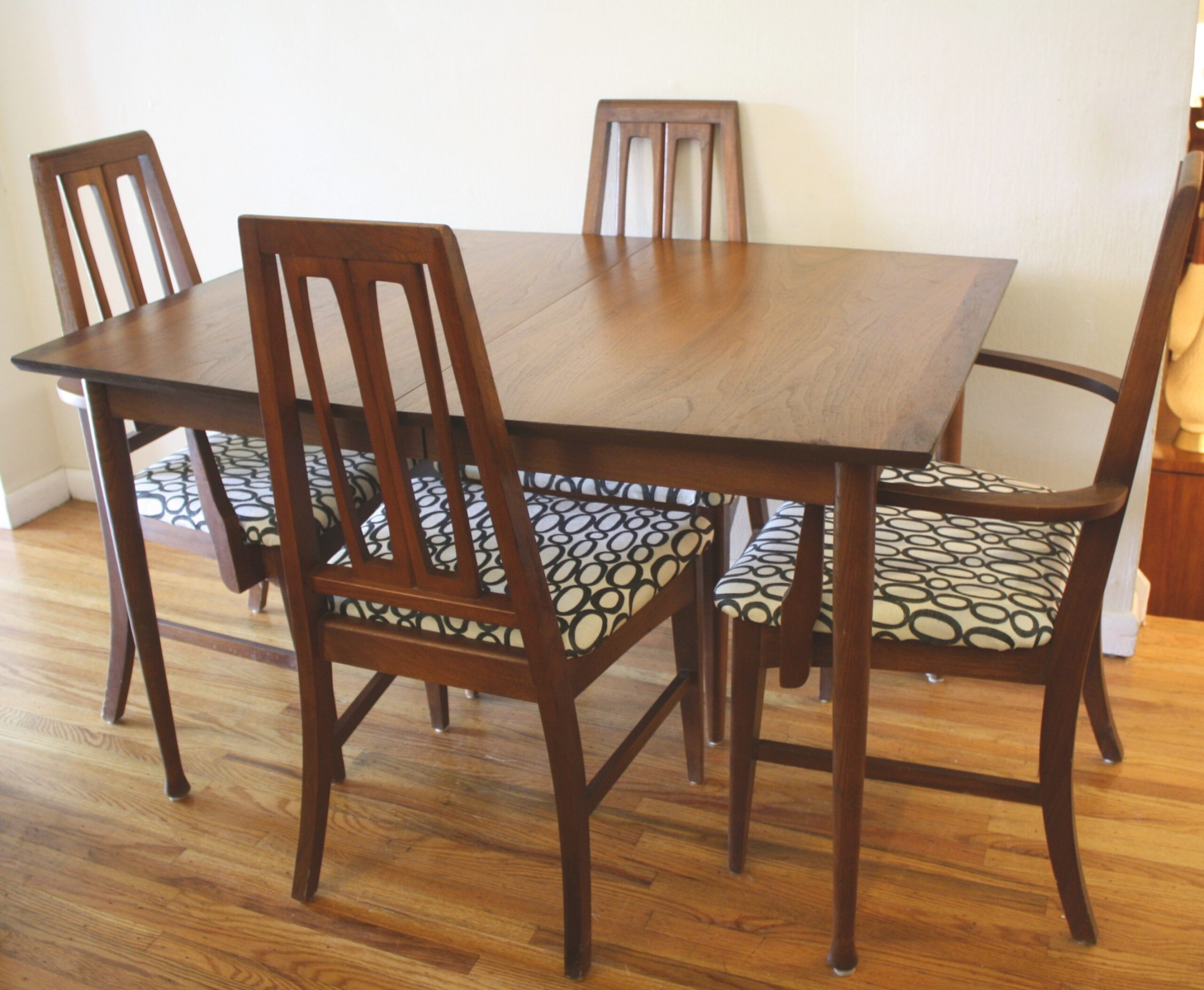 Mid Century Modern Sets Of Dining Chairs | Picked Vintage with regard to Mid Century Modern Dining Set