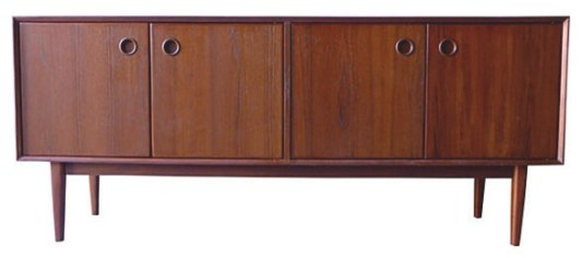 - Mid Century Modern Styled Credenza Media Stand - View In within Mid Century Modern Media Console