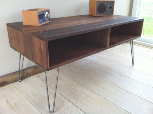 Mid Century Modern Tv Table/Entertainment Console for Mid Century Modern Media Console
