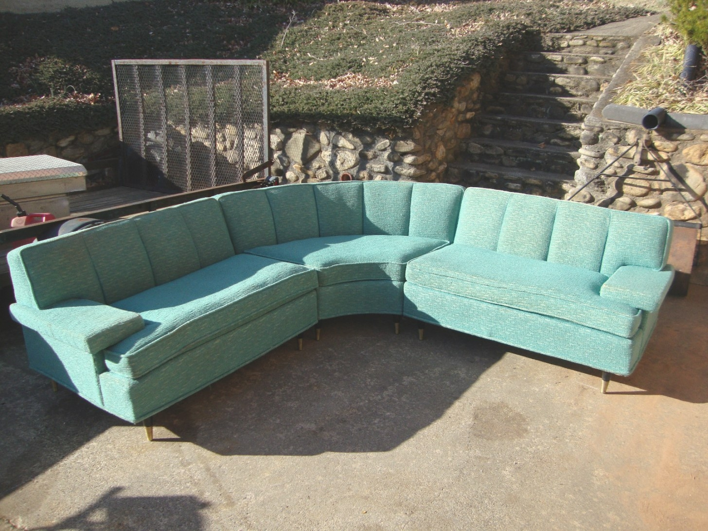 Modern 24 Seven: Finally! throughout Small Mid Century Modern Sectional