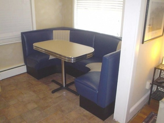Modern Half Circle Diner Booths | Diner Booth, Dining for Restaurant Booths For Home
