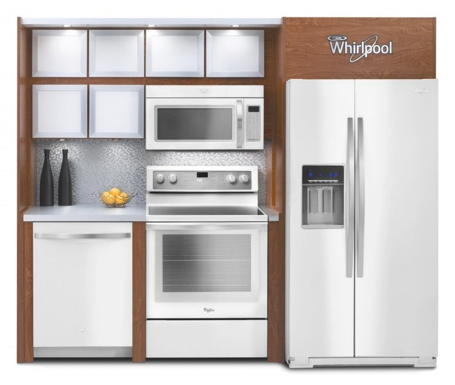 My Dream Kitchen: The Whirlpool White Ice Collection (With regarding White And Stainless Steel Kitchen