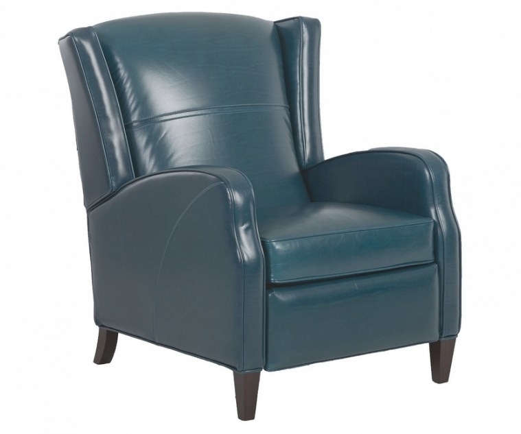Myers Mid Century Modern Wingback Leather Recliner (Coming throughout Mid Century Modern Recliner