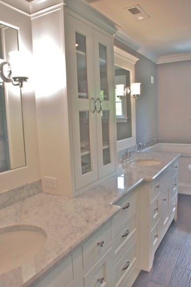 New Traditional - Traditional - Bathroom - Cincinnati - with Stand Alone Vanities For Bathrooms
