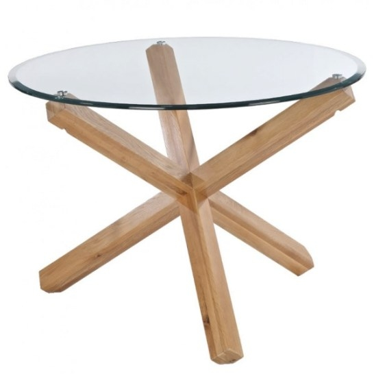 Ophelia Round Glass Dining Table inside Round Glass Dining Table