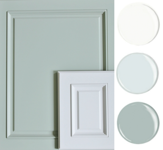 Our Coastal Kitchen Design Board   Kitchen Colors, New throughout Sherwin Williams Oyster Bay
