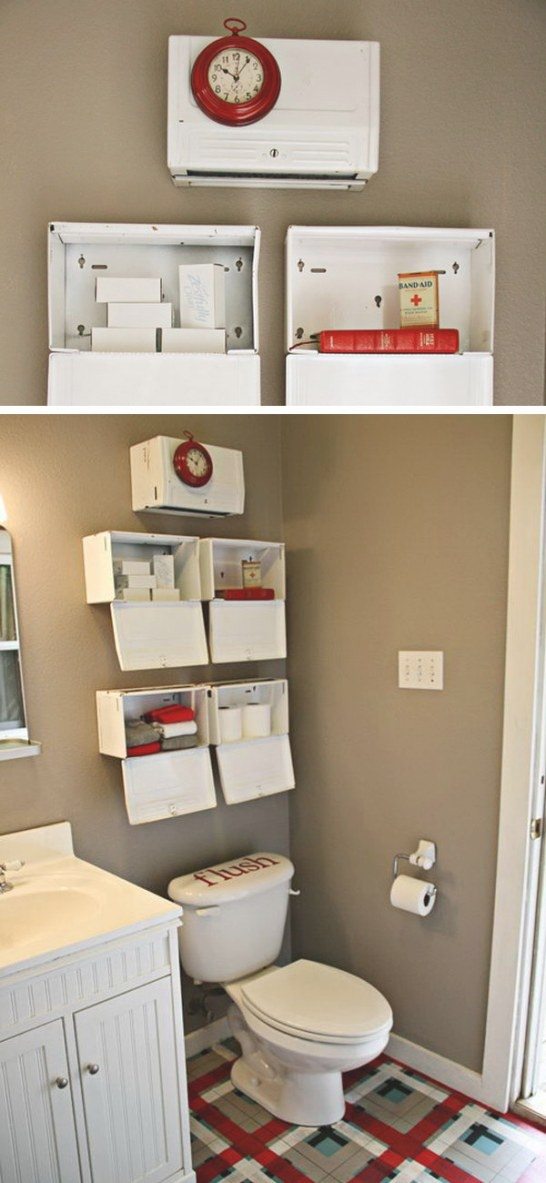 Over The Toilet Storage Ideas For Extra Space pertaining to Over The Toilet Storage