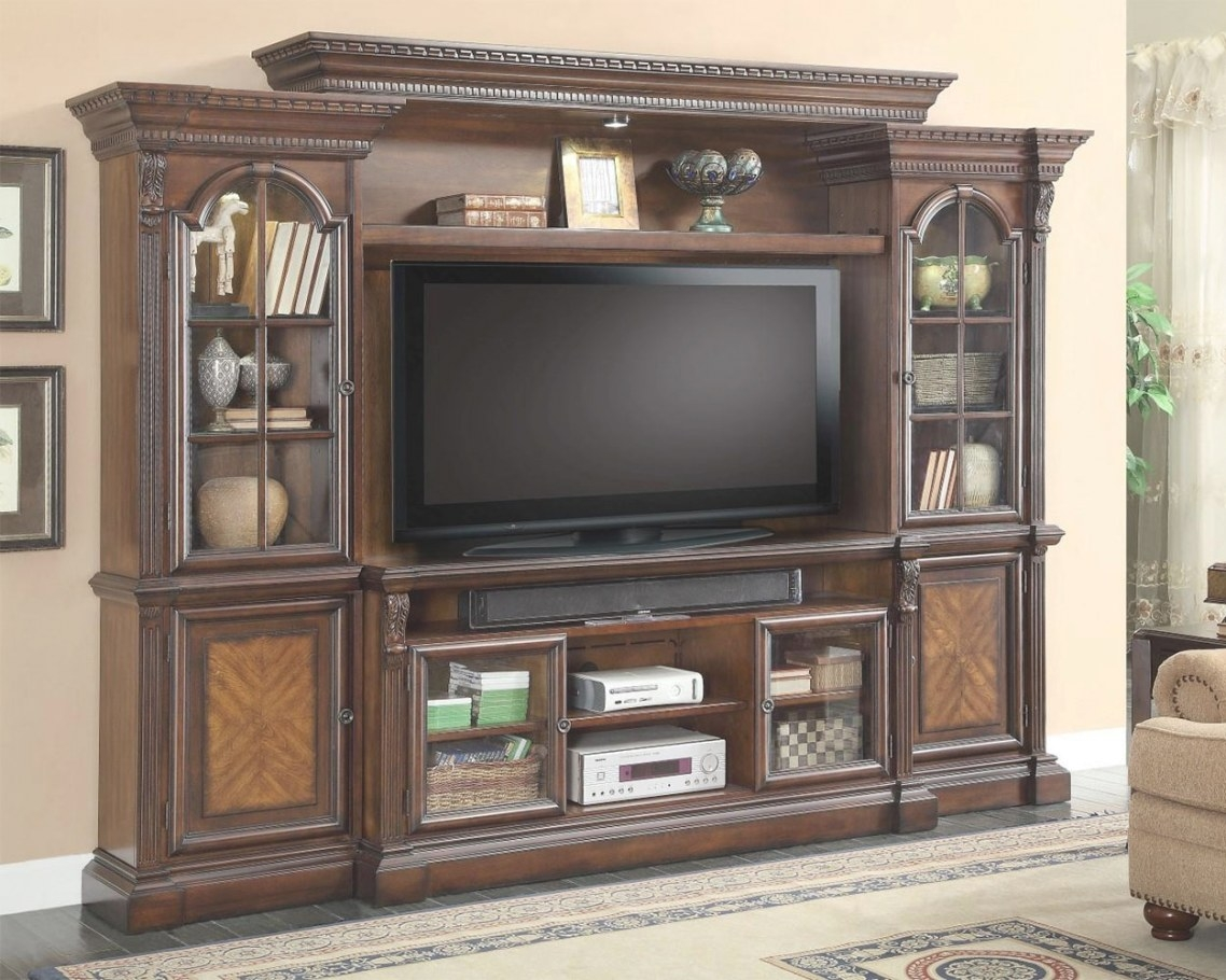Parker House 62In Tv Entertainment Center Wall Unit within Entertainment Center Wall Unit
