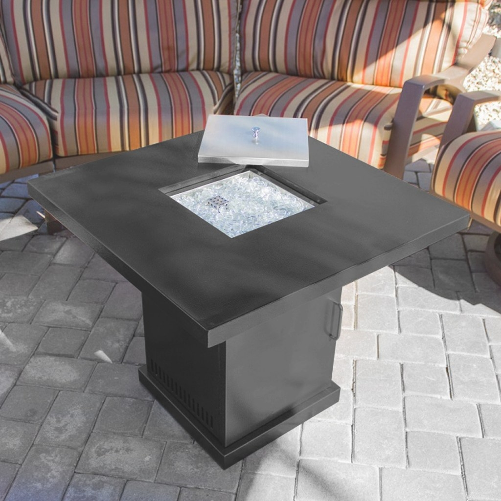 Patio Heater Table Fire Pit Outdoor Backyard Propane for Propane Fire Pit Table