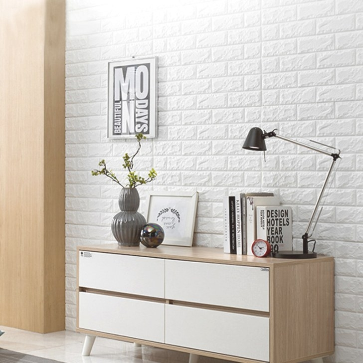Peel And Stick 3D Wall Panel For Interior Wall Decor with Peel And Stick Wall Panels