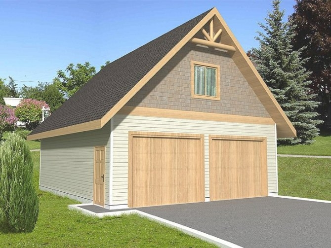 Plan 012G-0028 - Garage Plans And Garage Blue Prints From with regard to How Big Is A 2 Car Garage