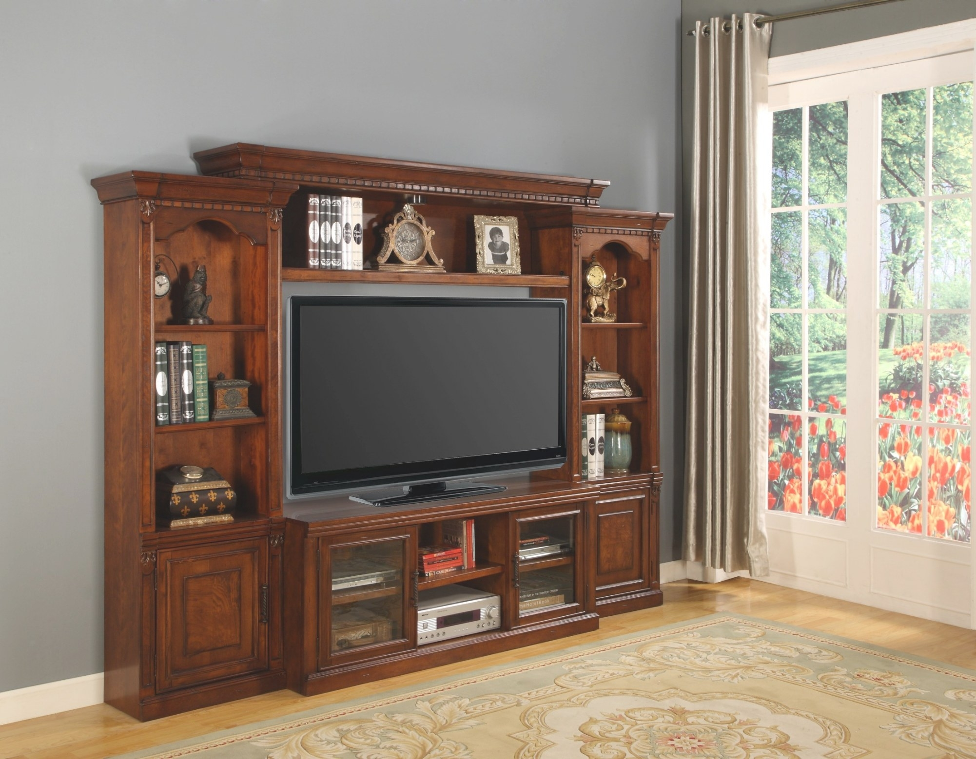 """Premier Athens 57"""" Entertainment Wall Unit From Parker within Entertainment Center Wall Unit"""