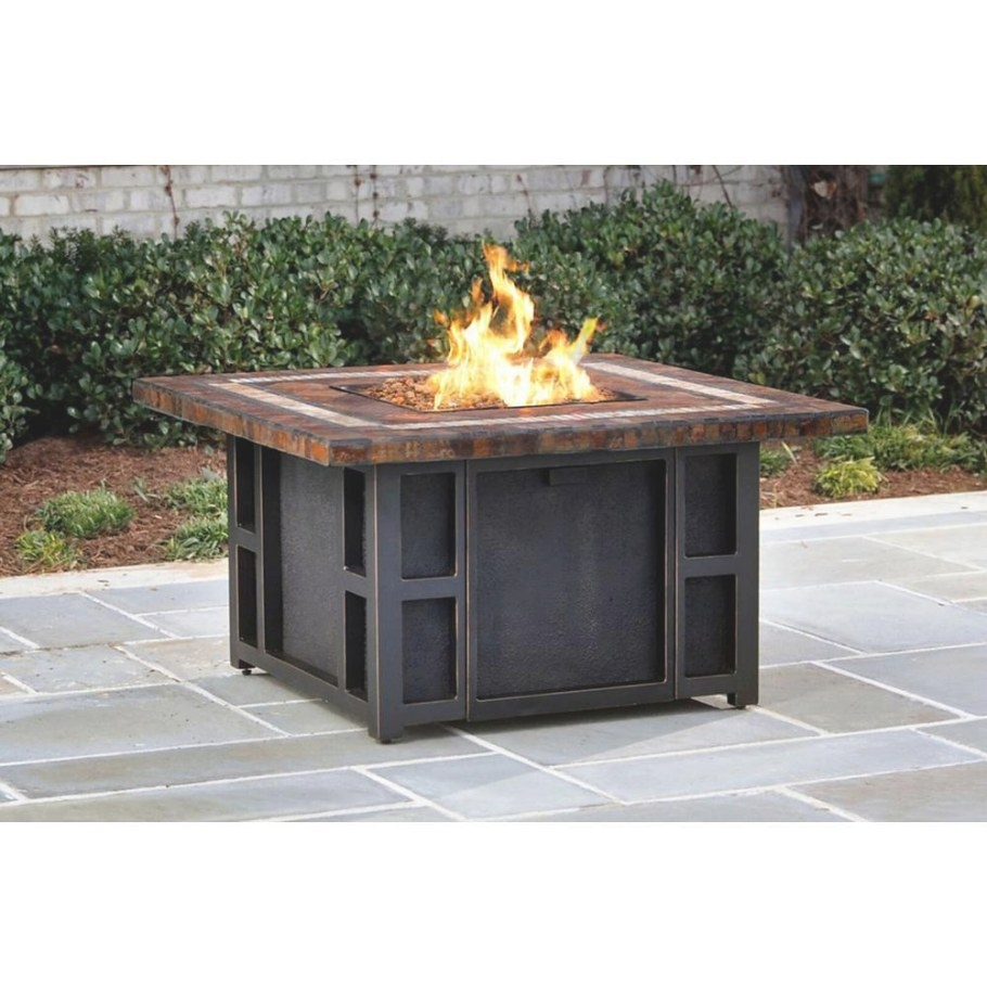 Propane - Fire Pits - Outdoor Heating - The Home Depot intended for Propane Fire Pit Table